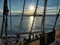 Gegenlicht Richtung Stavanger