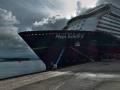 Kreuzfahrtschiff Mein Schiff Wolkenstimmung