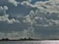Inseln im Hintergrund Wolkenstimmung
