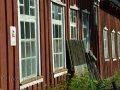 Fensterflucht altes Werftgebäude