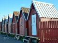 rote Häuschen im Hafen