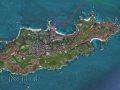 Karte Alderney
