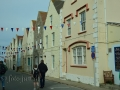 Häuser am Hafen von Braye