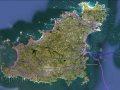 Landkarte Guernsey
