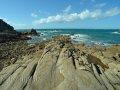 Steinküste bei Grandes Rocques