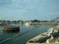 im Hafen von Klintholm
