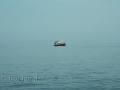 einsames Bötchen am Meer