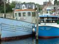 Schiffe im Hafen von Hesnæs