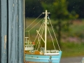 Schiffchen im Fenster