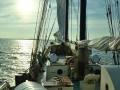 wieder auf der Zephyr nach Stralsund