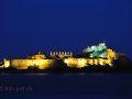Elizabeth Castle by night