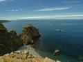 Blick nach Guernsey