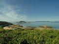 Hafen und Blick nach Guernsey
