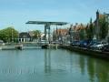 Brücke über einen Kanal