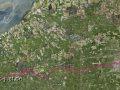 Landkarte nach Leeuwarden