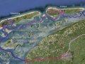 Karte westfriesische Inseln